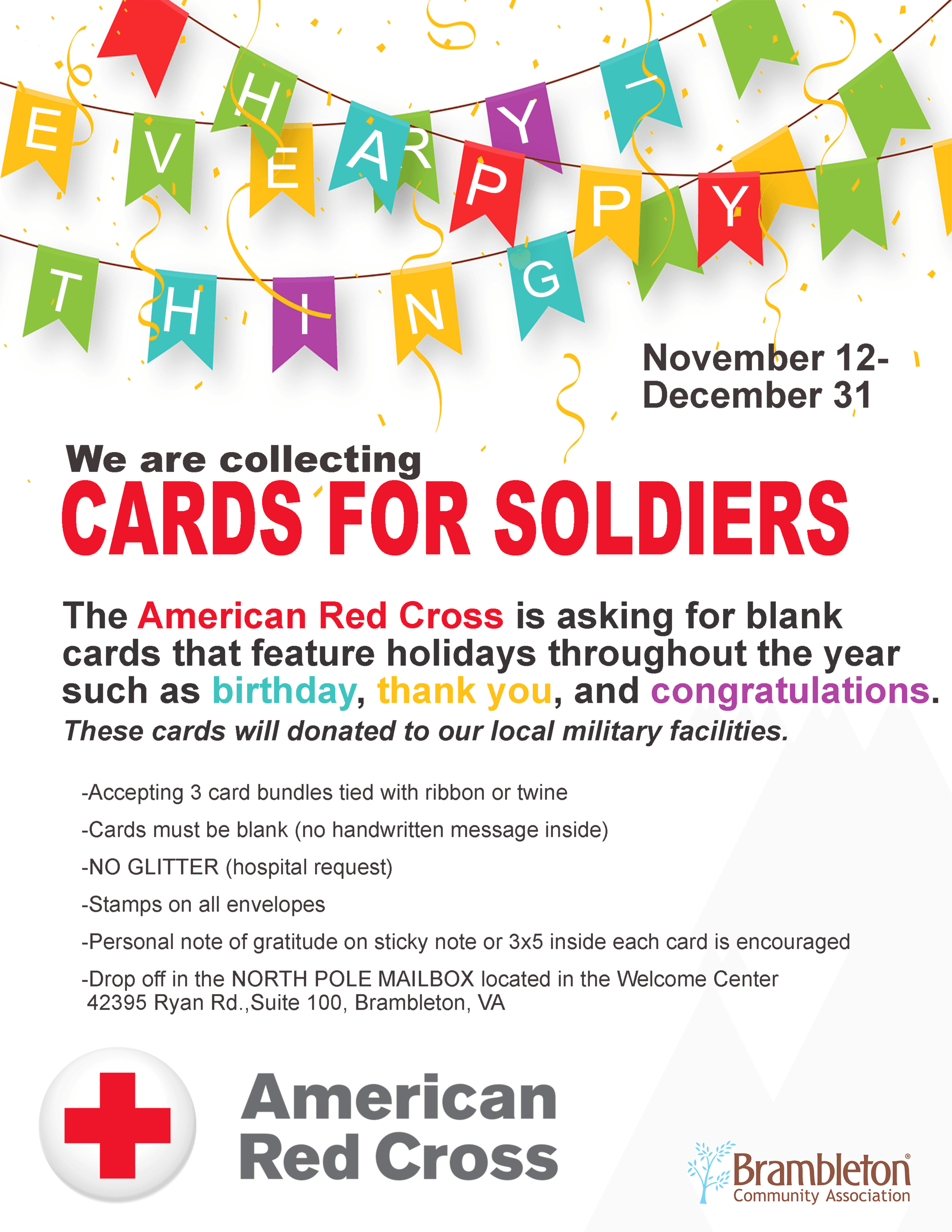 Card for Soldiers 2018