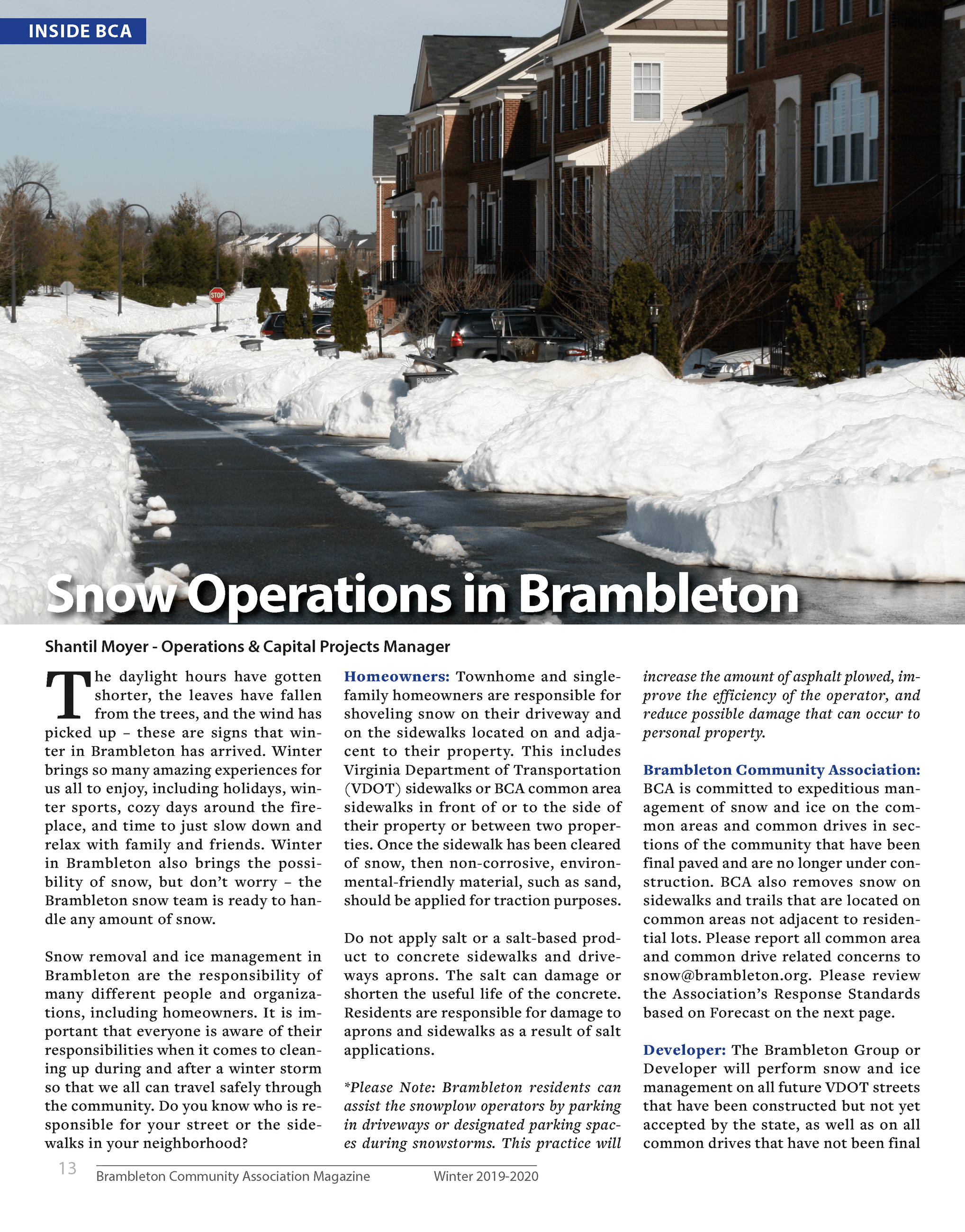 Brambleton Snow Operations 1