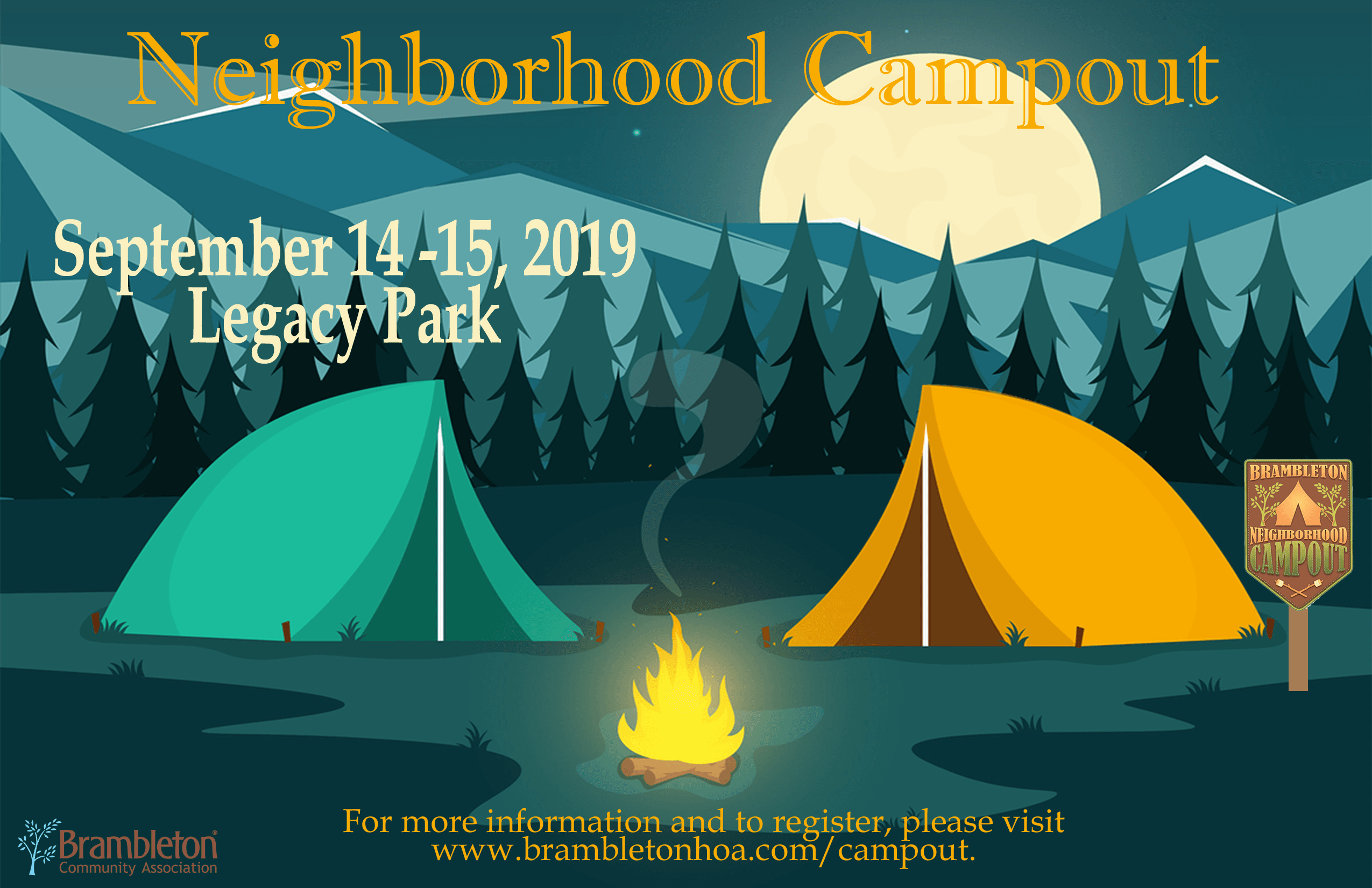 Neighborhood Campout 2019
