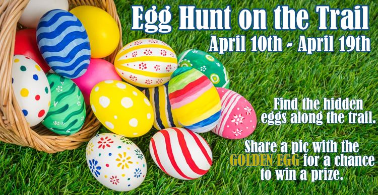 Egg Hunt on the Trail 2020
