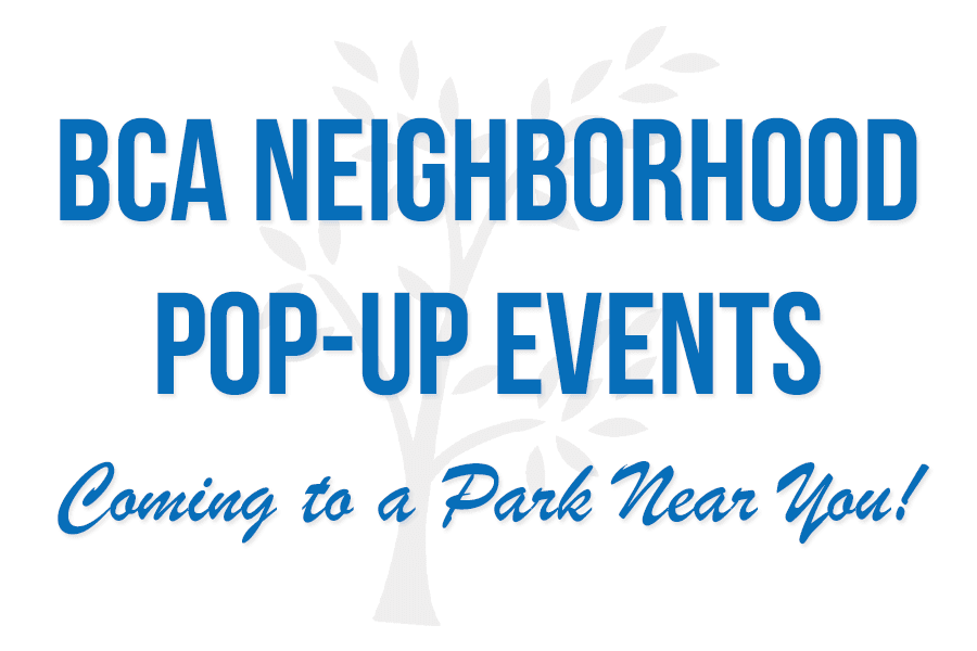Neighborhood Pop Up Events