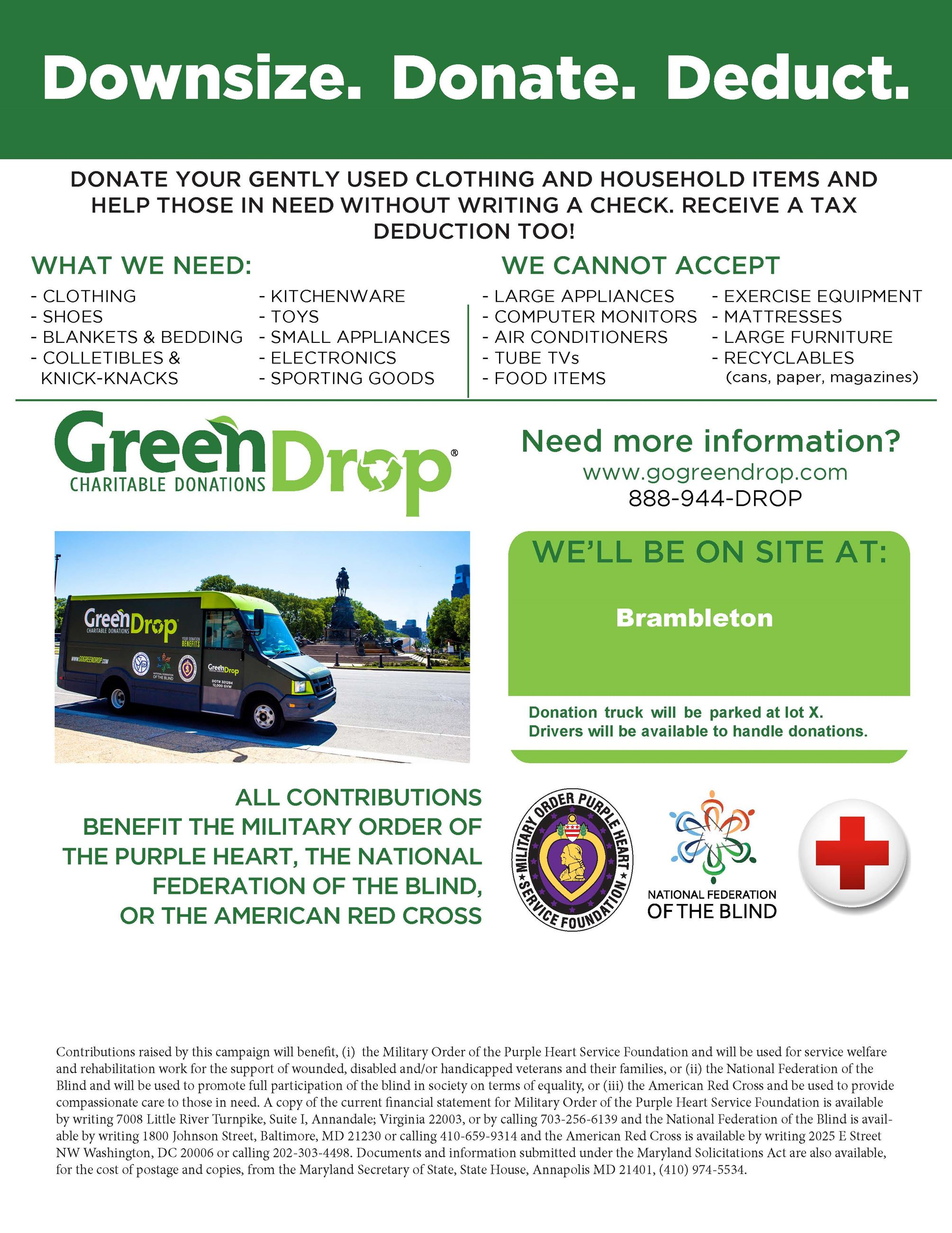 Green Drop Flyer